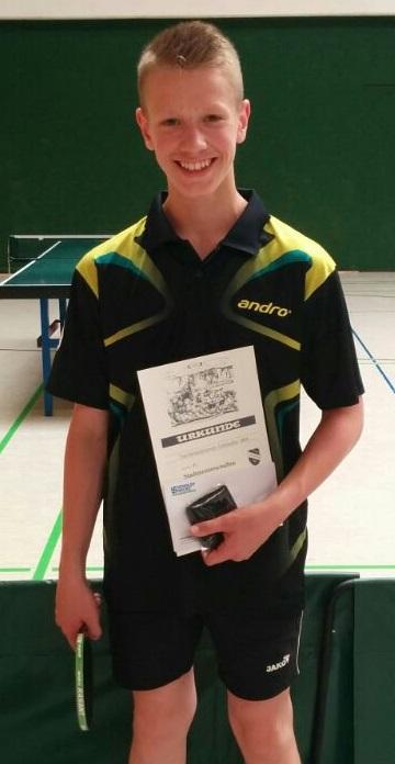 Turniergewinner Nils Brinkmann