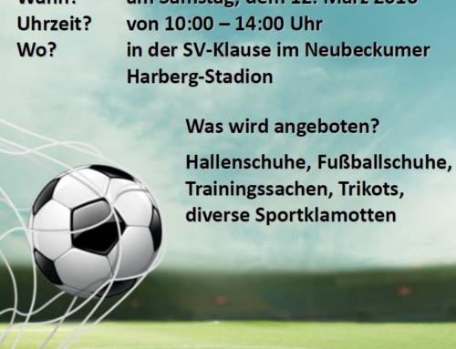 Fußball-Basar
