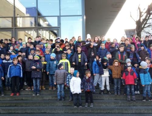 Jugendabteilung vom SV Neubeckum besucht das Cineplex in Hamm