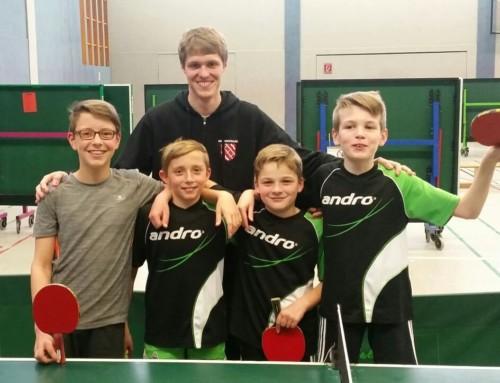 TT: Kaum Spannung in der Liga + Bezirks-mini-Meisterschaften