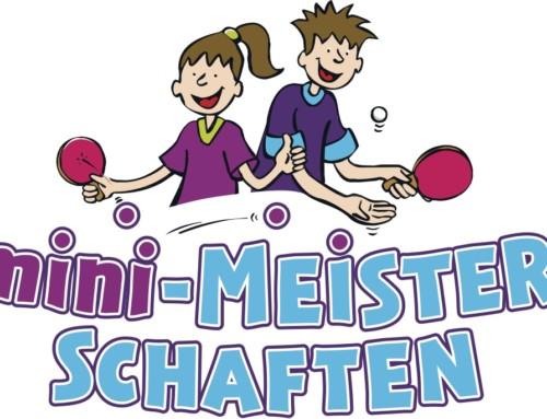 """Tischtennis-Schnupperturnier: Die """"mini-Meisterschaften"""" am 19.11.2017"""