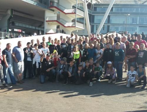 Jugendabteilung besuchte Bundesligaspiel Bayer 04 Leverkusen gegen den VFL Wolfsburg