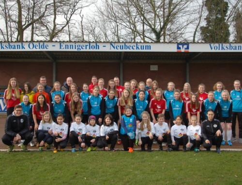 """""""Gemeinsam geht mehr"""" – Neubeckum und Vellern kooperieren beim Mädchenfußball"""