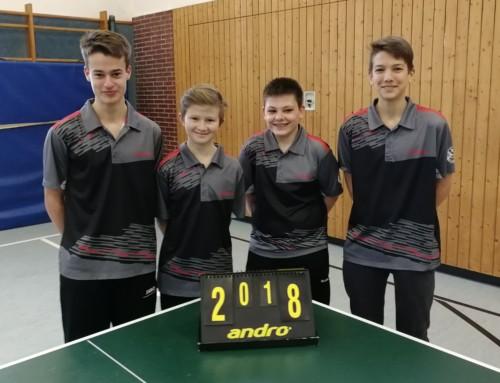 TT: SVN-Schüler sind Bezirksliga-Meister