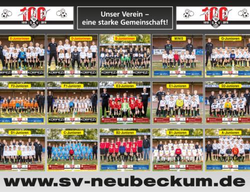 SVN-Jugendposter: Unser Verein, eine starke Gemeinschaft!