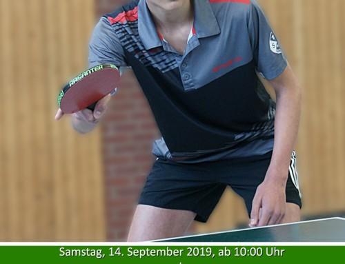 Vorbericht Tischtennis-Kreismeisterschaften in Neubeckum am WE