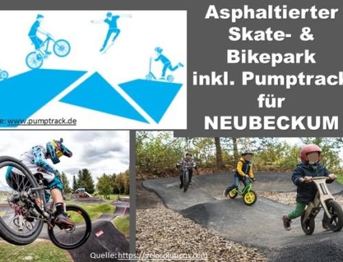 Skate- und Bikepark inkl. Pumptrack für Neubeckum